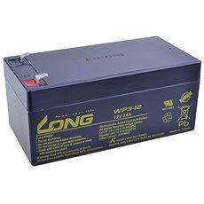 Long 12V 3Ah olověný akumulátor F1 (WP3-12) - Nabíjecí baterie