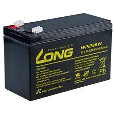 Long 12V 9Ah olověný akumulátor HighRate F2 (WP1236W) - Nabíjecí baterie