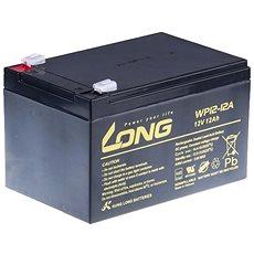 Long 12V 12Ah olověný akumulátor F2 (WP12-12A) - Nabíjecí baterie