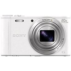 Sony CyberShot DSC-WX350 bílý - Digitální fotoaparát