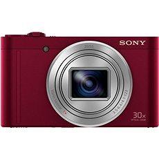 Sony CyberShot DSC-WX500 červený - Digitální fotoaparát