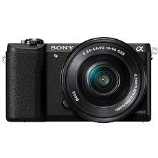 Sony Alpha A5100 černý + objektiv 16-50mm  - Digitální fotoaparát
