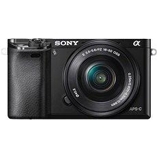 Sony Alpha A6000 černý + objektivy 16-50mm + 55-210mm - Digitální fotoaparát