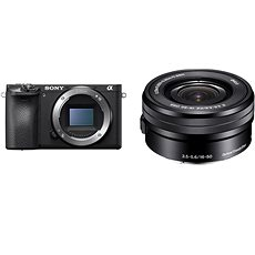 Sony Alpha A6400 + 16-50mm černá - Digitální fotoaparát
