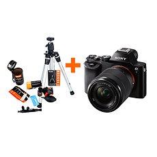 Sony Alpha A7 + objektiv 28-70mm + Rollei Starter Kit - Digitální fotoaparát