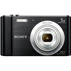 Sony CyberShot DSC-W800 černý - Digitální fotoaparát