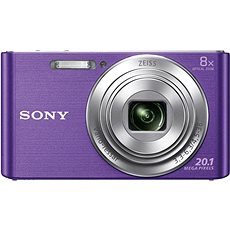 Sony CyberShot DSC-W830 fialový - Digitální fotoaparát