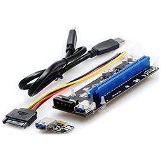 UNIBOS PCIe x16 na PCIe x1 (PCIe riser) - Redukce