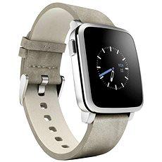 Pebble Time Steel Smartwatch stříbrné  - Chytré hodinky