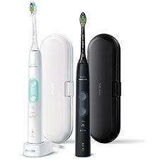 Philips Sonicare ProtectiveClean Gum Health Black and White HX6857/35 - Elektrický zubní kartáček