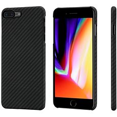 Pitaka Aramid case Black/Grey iPhone 8 Plus - Ochranný kryt