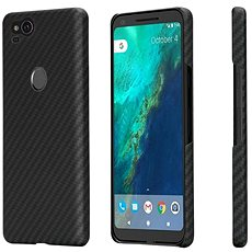 Pitaka Aramid case Black/Grey Google Pixel 2 - Kryt na mobil