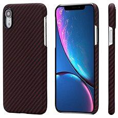 Pitaka Aramid Case Black/Red Twill iPhone XR - Kryt na mobil