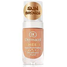 DERMACOL Sheer Face Illuminator Sun Bronze 15 ml - Pleťový fluid