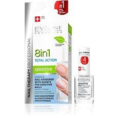EVELINE COSMETICS Spa Nail Total Action 8 In 1 Sensitive 12 ml - Lak na nehty