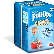 HUGGIES Pull Ups vel. 4 Small - Boys (16 ks) - Plenkové kalhotky