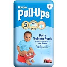 HUGGIES Pull Ups vel. 5  Medium - Boys (14 ks) - Plenkové kalhotky
