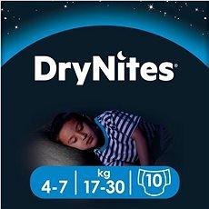 HUGGIES Dry Nites Medium 4–7 years Boys (10 ks) - Dětské pleny