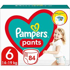 PAMPERS Pants Extra Large vel. 6 (88 ks) - Mega Box - Plenkové kalhotky