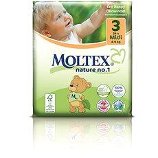 MOLTEX nature no. 1 Midi vel. 3 (34 ks) - Eko pleny