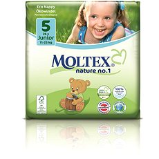 MOLTEX nature no. 1 Junior vel. 5 (26 ks) - Eko pleny
