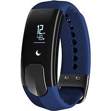 Mio SLICE celodenní měřič tepu a aktivity modrý - dlouhý pásek - Fitness náramek