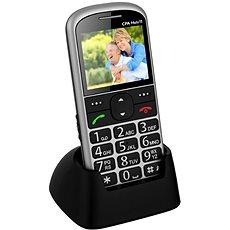CPA Halo 11 stříbrný s nabíjecím stojánkem - Mobilní telefon