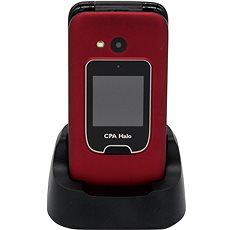 CPA Halo 15 červený s nabíjecím stojánkem - Mobilní telefon
