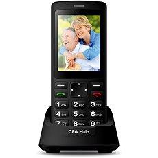 CPA Halo Plus Černý s nabíjecím stojánkem - Mobilní telefon