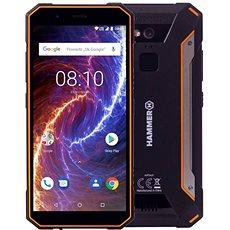 myPhone Hammer Energy LTE 18x9 oranžová - Mobilní telefon