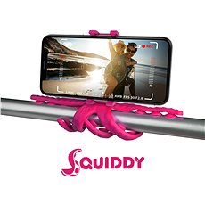 """CELLY Squiddy pro telefony do 6.2"""" růžový - Držák na mobilní telefon"""