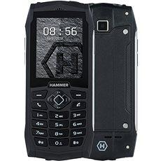 myPhone HAMMER 3 stříbrný - Mobilní telefon
