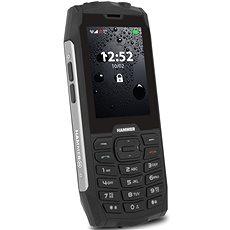 myPhone Hammer 4 stříbrná - Mobilní telefon