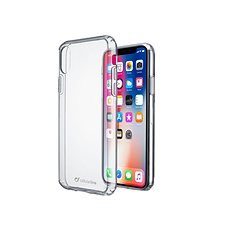 Cellularline CLEAR DUO pro Apple iPhone XS Max - Kryt na mobil