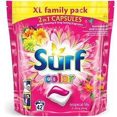 SURF Color Tropical 2v1 42 ks (42 praní) - Kapsle na praní