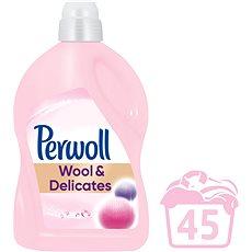 PERWOLL Wool & Delicates 2,7 l (45 praní) - Tekutý prací prostředek