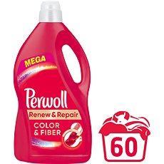 PERWOLL Color & Fiber 3,6 l (60 praní) - Tekutý prací prostředek