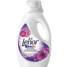 LENOR 2v1 Amethyst & Floral Bouquet Color 1,1 l (20 praní)     - Prací gel