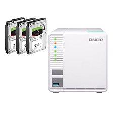 QNAP TS-328 + 3x2TB HDD RAID5 - Datové úložiště