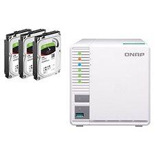 QNAP TS-328 + 3x4TB HDD RAID5 - Datové úložiště