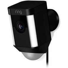 Ring Spotlight Cam Wired Black - IP kamera