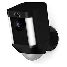 Ring Spotlight Cam Battery Black - IP kamera