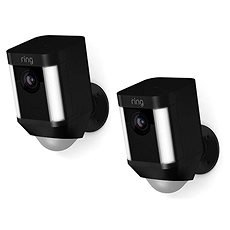 Ring Spotlight Cam Battery Black Duo pack - IP kamera