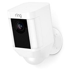 Ring Spotlight Cam Battery White - IP kamera