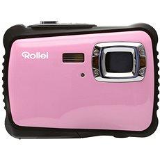 Rollei Sportsline 64 Růžovo-černý + brašna zdarma - Digitální fotoaparát