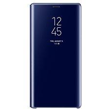 Samsung Galaxy Note9 Clear View Standing Cover Modrá - Pouzdro na mobilní telefon