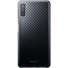 Samsung Galaxy A7 2018 Gradiation Cover Black - Kryt na mobil