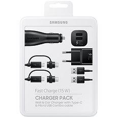 Samsung Charger Pack Černá - Sada