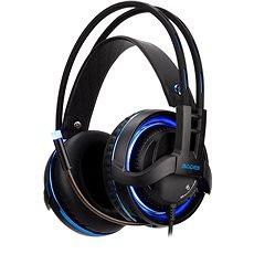 Sades Diablo černá/modrá - Herní sluchátka
