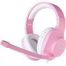 Sades Spirits růžová (Angel Edition) - Herní sluchátka